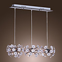 25W E14 Acrylic and Metal Canopy Chandelier