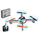 FXD 2.4Ghz 4-Channel And Six--axis Small Space Insects Remote Control Aircraft