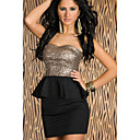 Women's Black Fahion Beautiful Bandeau Dress
