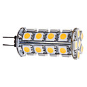 G4 3,5 W 30x5050SMD 280-310LM 3000-3500K Warm wit licht LED Corn Bulb (12V)