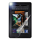 Silber PET Werkstoff Laptop Screen Protector Diamant Film für Amazon KINDLE FIRE HD 7 ""