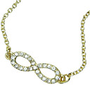Women's Simple Diamond Mask Alloy Necklace