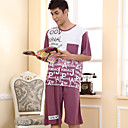 Men's Fashion Short Sleeve Lounge Wear