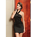 Black Sexy Starry Halter Dress(Length:68cm Bust:86-102cm  Waist:58-79cm  Hip:90-104cm)