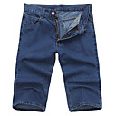 Men's Cotton Mid Length Denim Pants