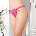 Fuchsia Layered Lace-trim Thong((Waist:64-74cm)