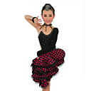 Performance Dancewear Spandex Latin Dance Dress for Children More Colors