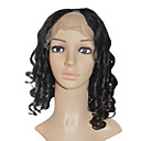 Lace Front 100% Indian Remy Hair 16&quot; Jelly Curly Hair Wigs Multiple Colors Available