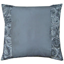 Floral Design Polyester Decorative Pillow Cover