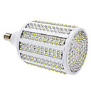 E14 18W 330-LED 1080-1100LM 3000-3500K Warm White Light LED Corn Bulb (85-265V)