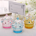 Beautiful Crystal Cake Placecard Holders (More Colors)