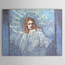 Famous Oil Painting A-half-figure-of-an-angel-after-rembrandt by Van Gogh