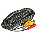 20 Meters (or 33 Feet) BNC Video and Power 12V DC Integrated Cable