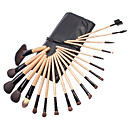 19Pcs Top Wood Professional Makeup Brush