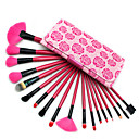 18Pcs Rose Professional Makeup Brushes