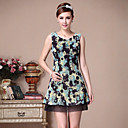 Diary best Heavy embroidered dish Fashion Short Dress