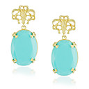 Fashion Alloy Drop Earrings More Color Available