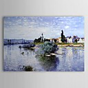 Famous Oil Painting Lavacourt by Claude Monet