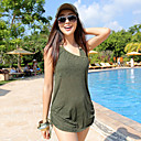 Three-piece Olive Swimwear