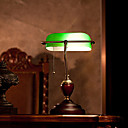 European Complex Classical Desk Lamp Continental Bank Stands Solid Wood Study The Republic Of Old Shanghai Office