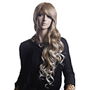 Capless High Quality Synthetic Blonde Wavy Long Hair Wigs