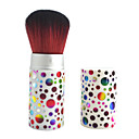 Moda Multicolor Dot impresión Maquillaje Blush Brush