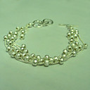 Fashion 925 Sterling Silver Bracelet With The Fancy Style (QTY:12)free shipping(RP027)
